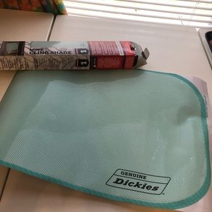 Dickies mint colored cling sunshade
